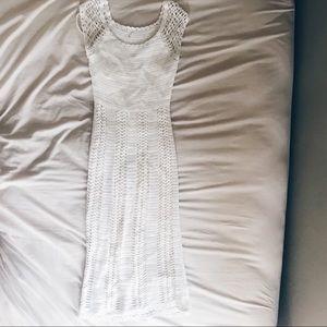 Dresses & Skirts - Vintage Knit Off White Dress
